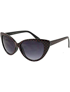 retrouv®–lunares Ojo de Gato Mujeres Mod Mode Super Cat gafas de sol