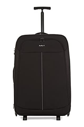 Antler Duolite NX 2 Wheel Large Exp R/Case Black 2.7kg Koffer, 75 cm, 101 liters, Schwarz (Black)