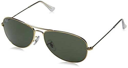 Ray-Ban RB3362-01 Aviator Sonnenbrille, Gold, Gr. 59