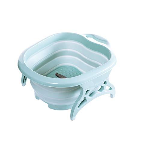 JOJ- Platzspar-Fußbad, Fuß-Pflege Waschen Reinigen Pflege Pediküre Wasser Relaxen Spühlwanne Wanne Schüssel platzsparend -