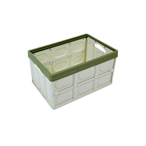 Sen-Sen Professionelle Mehrzweck Kofferraum Kofferraum Tasche Box ordentlich Heavy Duty Organizer grün -