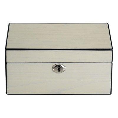Reed & Barton 632C Natural Instinct Modern Lines Cream Jewelry Box by Reed & Barton Reed - & Barton Box