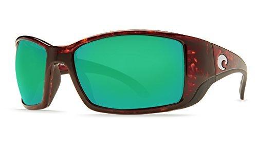 Preisvergleich Produktbild Costa Del Mar BL10GFOGMGLP FISCH Herren Schildkröte Rahmen Grün 580G Objektiv Oval Polarisierte Sonnenbrille