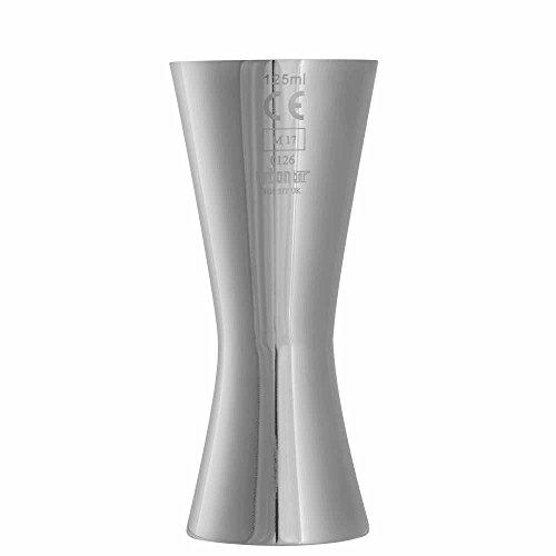 Aero Wein Messen 125ml CE-gekennzeichnet–Elegante Japanische Stahl Wein Fingerhut