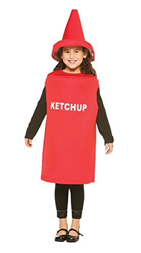 Rasta Imposta Leichte Ketchup Kinderkostüm, 7-10, (Ketchup Kinder Kostüme)
