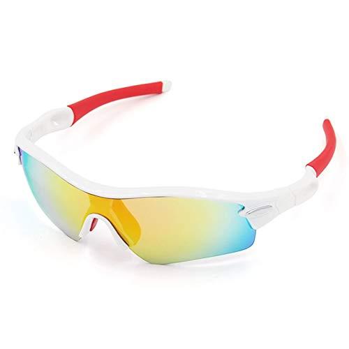 7e7c41e085 Beydodo Gafas Deportivas Gafas Seguridad Antivaho Gafas Protectoras Viento  Gafas de Unisex Gafas de Sol Blanco