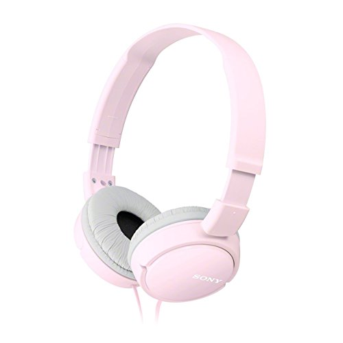 Sony MDR-ZX110 - Stereo Headphones, Powerful Sound - Pink