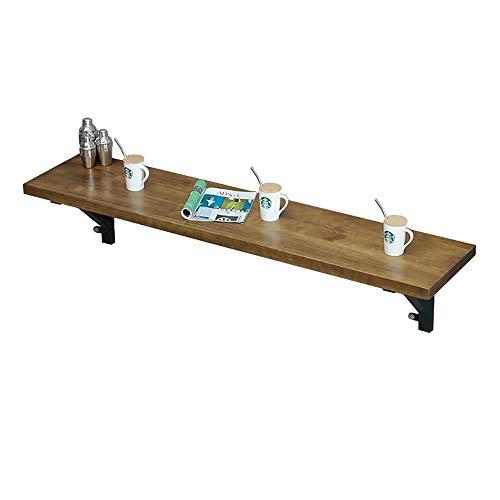 QJJML Einfacher Wand-Esstisch, Wand-Laubtisch, Klappbarer Kleiner Tisch, Platzsparender Freizeittisch Im GeträNkeshop,250×40CM