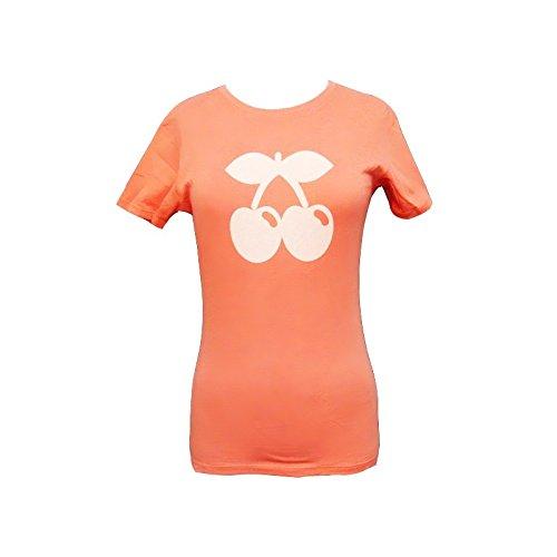 Pacha: Camiseta Mujer Melocotón Cereza Tono - Melocotón, M - Medium