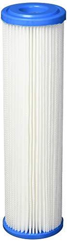 Pleated Filter Media (Polyester Pleated Under Sink Replacement Filter by Hydronix)
