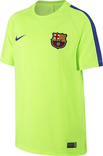 Nike Fcb Y Nk Dry Sqd Ss Camiseta de Manga Corta...