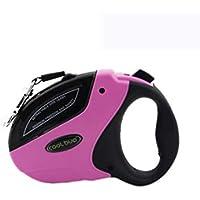 Haustierleine PetRetractable Dog Lead mit ergonomischem Design und Glatter Leineneinzug unterstützt mittlere und große Hunde