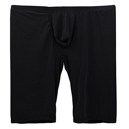 Sharplace Herren Boxer Boxershort Unterhose unterwäsche Underpants Brief - Schwarz, XL -