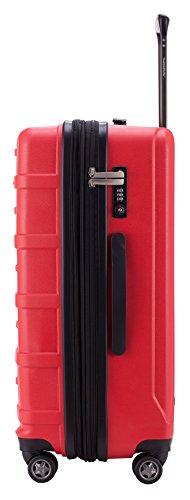 HAUPTSTADTKOFFER -  Ostkreuz Koffer Rot 65cm, 82L TSA Rot