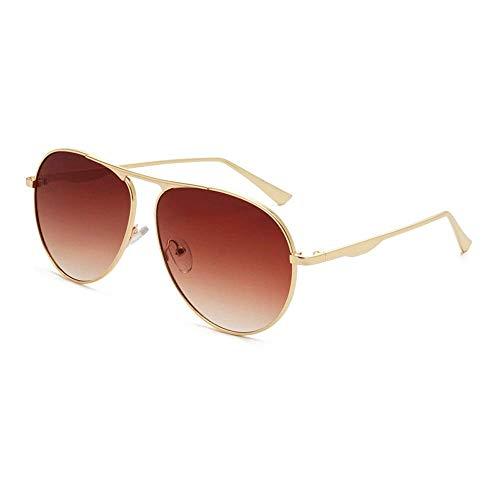 JFFFFWI Ofgcfbvxd-gla Mode Unisex Fahren Sonnenbrille Aviator Polarized Metal Frauen Männer 100% UV-Schutz Sonnenbrille Für Männer \u0026 Frauen Ultraleicht (Farbe: Rot, Größe: Casual Größe)