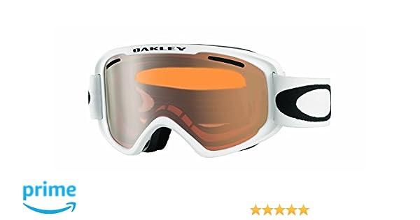 Oakley Uni Sportbrille 02 Medium 706633 0, Weiß (Matte White/Persimmon), 99