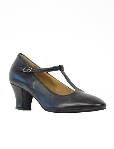Made Rumba Chromledersohle Absatz Tanzschuhe 9201rumpf Schuhe Salsa Damen 5 In Latein Leder Material Cm Italy Ballroom Schwarz Tango xq6qIv1