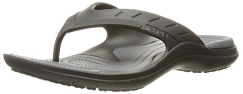 Crocs Modi Sport Flip-Flop, Black/Graphite, M9/W10 UK