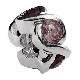Silverado 'select Ensemble de pierre' argent Charm–SE fixe sur le Pandora Chamilia et bracelet troll