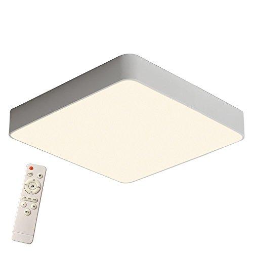 SAILUN 24W Dimmbar LED Einfach Deckenlampe Platz Deckenleuchte für Schlafzimmer Küche Flur Wohnzimmer Lampe Wandleuchte Energie Sparen Licht Weiß (Joch Pendelleuchte)