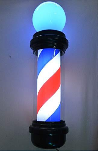 LED-Drehfriseur-Pfosten-traditionelles Salon-Geschäfts-Zeichen-Frisur mit leuchtendem Bereich belichtete rote weiße Blaue Streifen (Frisur Erweiterte)