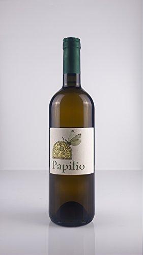 6 x 0.75 l - papilio. vino bianco bio - altea illotto. papilio, è un vino bianco sardo a base nuragus (90%) il restante 10% è nasco e vermentino.