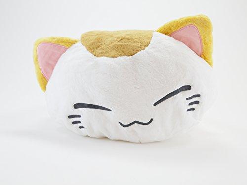 Nemu Neko Weißbraun mit Koi hinten Nemuneko Sleepy Cat Plüsch NEU NEW 40 x 30 x (Kostüm Anime Kitty)