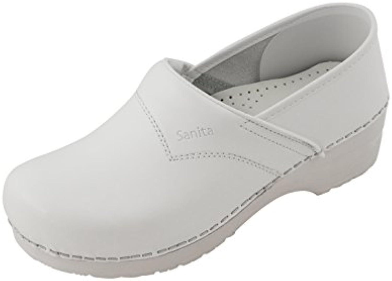 Sanita Work Wear PU Clog Schwarz  Billig und erschwinglich Im Verkauf