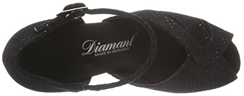 Diamant Damen Tanzschuhe 011-064-156, Scarpe da ballo donna Nero (Black Waterproof)