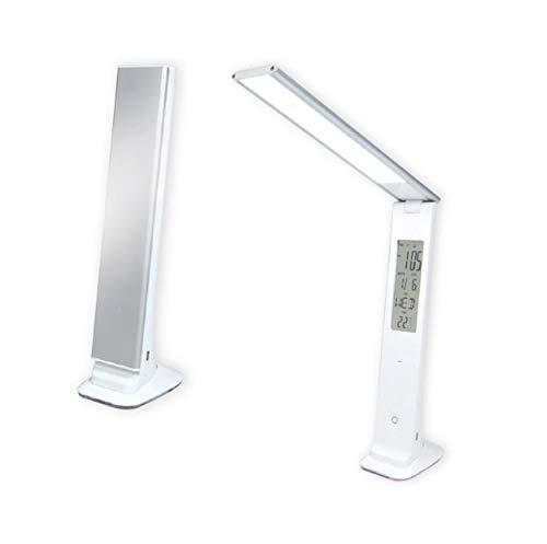 LED Schreibtischlampe LCD-Display faltbar Touch Dimmbare Tischleucht USB-Ladefunktion Farbwechsel 07 07 Lcd