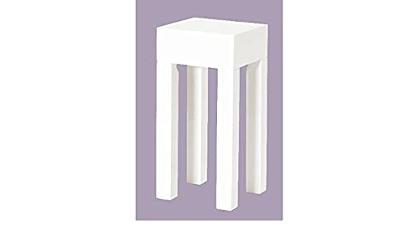Smalle Sidetable 25 Cm.Linette Small Side Table 25 X 25 Cm White Amazon Co Uk