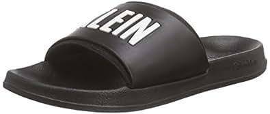 Calvin Klein Underwear Unisex Adults Slide Sandals Black