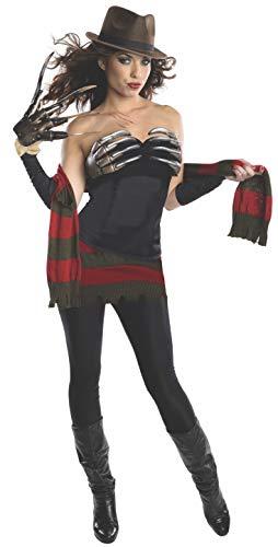 Miss Krueger Kostüm - Nightmare Miss Krüger Kostüm für Damen, Größe:M