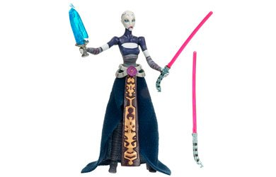 Hasbro 87856 - Star Wars: The Clone Wars Collection - Asajj Ventress with Count Dooku Hologram (Star Wars Ventress)