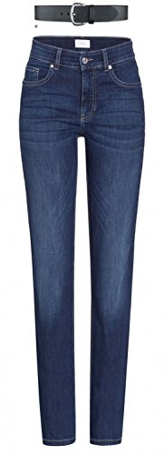 MAC Melanie Damen Jeans Hose 0380l504087 , Farbe:D845 new basic wash;Größe:W48/L28 (Wash Hose Denim)