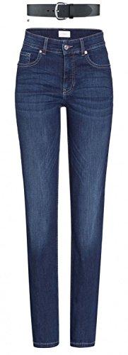 MAC Melanie Damen Jeans Hose 0380l504087 , Farbe:D845 new basic wash;Größe:W48/L28 (Hose Denim Wash)