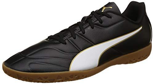 Puma Herren Classico C II IT Multisport Indoor Schuhe, Schwarz Black White-Gold, 42.5 EU