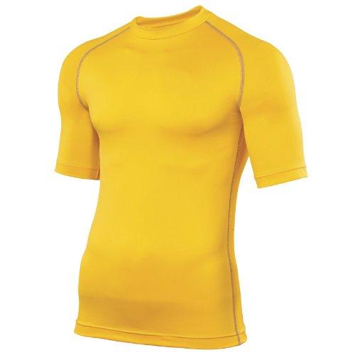 Preisvergleich Produktbild Rhino Unterzieh-Shirt,  Baselayer für Erwachsene XS fluoreszierendes gelb