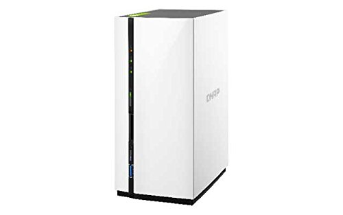 Qnap  TS-228 1.1GHz 2-Bay NAS Server Bundle mit 2X 1TB WD10EFRX | 0721456171334