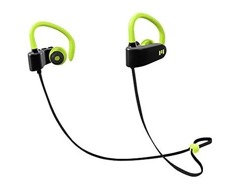 M1 by Miiego Wireless Earphones for Action & Sport neongreen