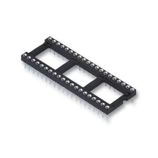 SOCKET IC, DIL, 22WAY, PK18 BPSCA D2822-42 - SC10599 By HARWIN