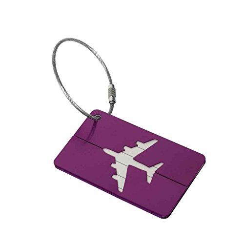 ELENXS Nom Adresse ID Bag Bagage Étiquette Voyage