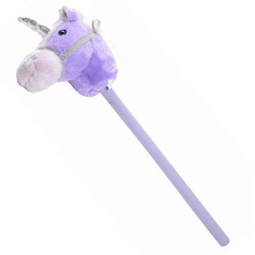 BFL Toys Fantasy Hobby Horse with Sound - Pink amp; Purple Unicorn
