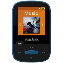 """Lecteur MP3 """"Clip Sport"""", 8GB, Bleu"""