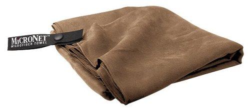 Serviette MicroNet McNett, mocca (Taille cadre: XL) serviette de bain