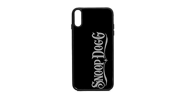 Custodia per iPhone Xs, motivo: Snoop Dogg: Amazon.it: Elettronica