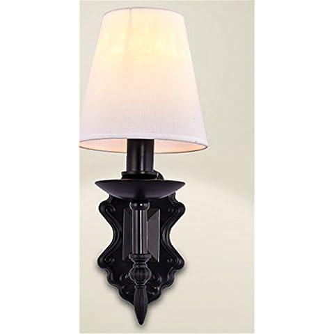 XLSYD American Iron luci da parete Soggiorno Camera Da Letto letto Bay Ristorante moderno creativo (Lanterna Muro Bay)