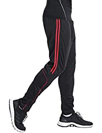 FITTOO Pantalon Jogging Homme Sport Fitness Occasionnels Respirant  survêtement Rayure Entraînement ... 6d1beb917f37