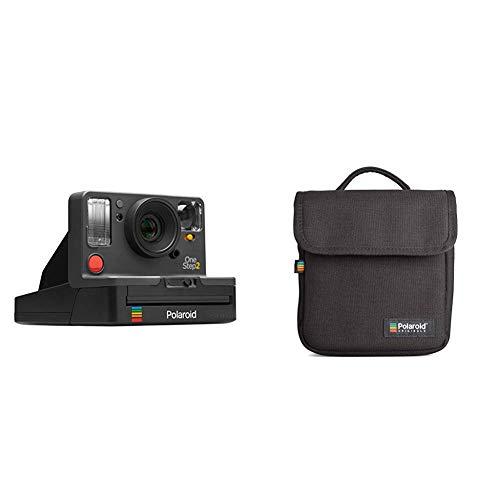 Polaroid Originals - 9009 - Neu One Step 2 ViewFinder Sofortbildkamera - schwarz &  Originals Instant Kameratasche Schwarz