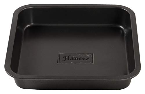 Haneez-Square-Baking-Tray-Large-95-Inches-Non-Stick-For-Cake-Loaf-Pizza-Puddings-Bread-Premium-Steel-Nonstick-Coating-Food-Grade